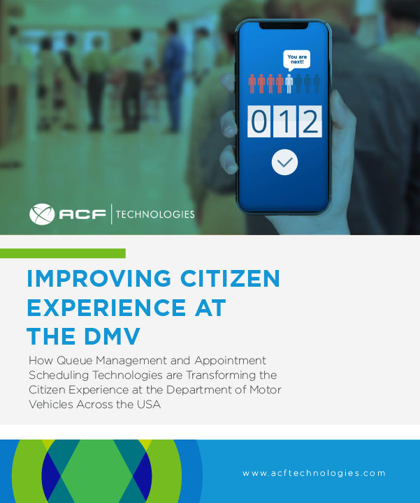 Improving Citizen Experience At The DMV