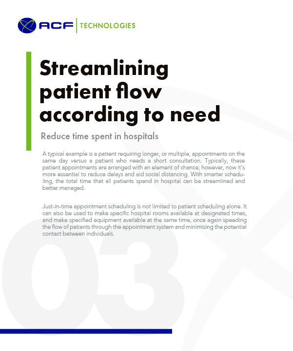Streamline Patient Flow