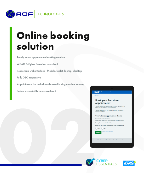 Online Appointment Booking Solution