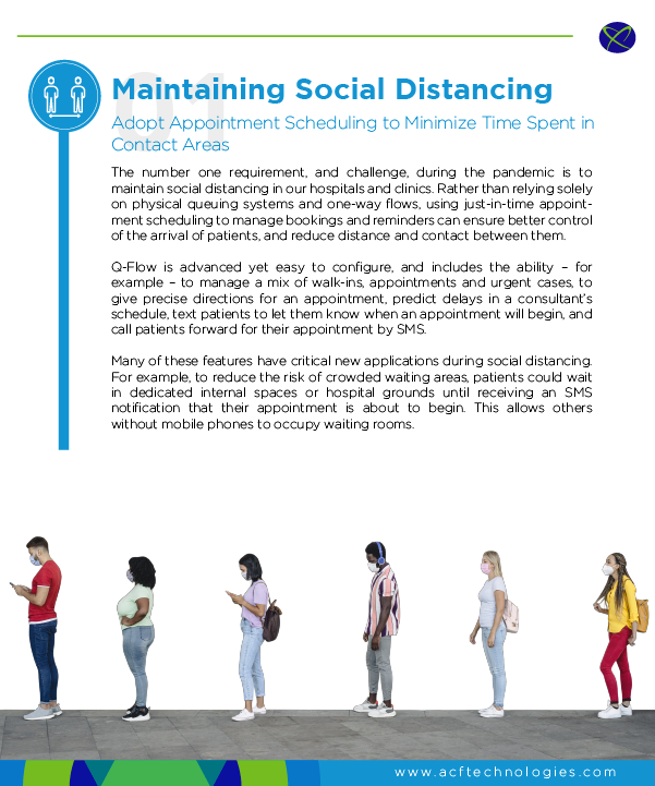 Appointment Scheduling for Social Distancing